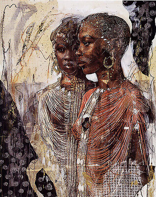 """Marta Gottfried """"We are Sisters"""" Fine Art Reproduction"""