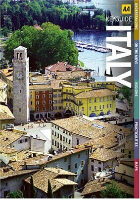 Italy (AA Key Guides Series) (AA Road Map Europe S... by AA Publishing Paperback
