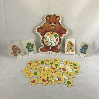 Vtg Care Bears Board Game Replacement Pieces Movers Spinner 1983 Parker Brothers