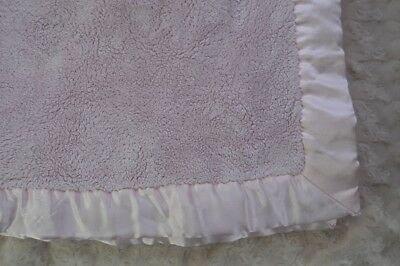 Koala Baby Solid Pink Blanket Silky Satin Edge Security Lovey Babies R Us