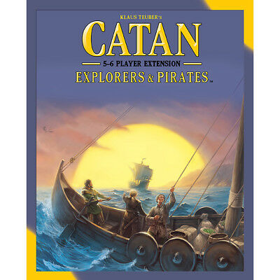 Catan 5th Explorers & Pirates 5-6 Player Extension - Asmodee - New Board Game