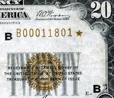 HGR SATURDAY 1929 $20 FRBN New York ***STAR*** ((X-RARE)) AWESOME GRADE