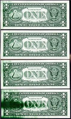 HGR SATURDAY (ERROR) 1988A $1 (Progressive Ink Smears) Appears GEM UNCIRCULATED