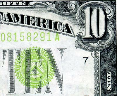 HGR SATURDAY 1934 $10 FRN ((Gorgeous LIME)) Appears GEM UNCIRCULATED