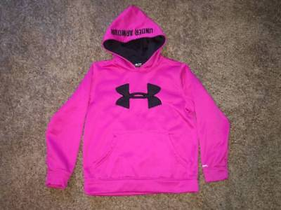 Kid's Clothes Sz Ysm/jp/p Loose Under Armour Pull-Over Hoodie