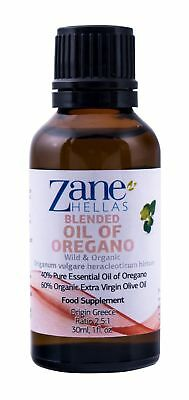 ZANE HELLAS Wild Pure Greek Essential Oil of Oregano with 86 Percent Minimum ...