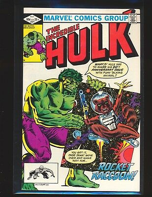 Incredible Hulk # 271 - 2nd Rocket Raccoon, 1st in comics VF Cond.