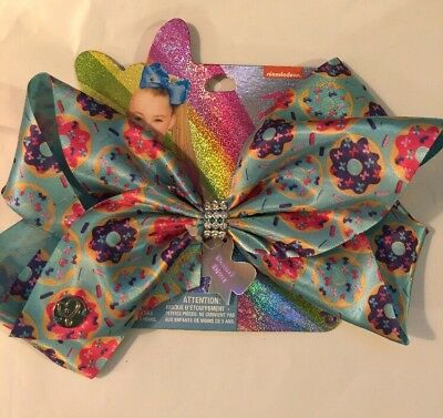 JoJo Siwa Large Dount Diva Bow Donut - Brand New Release! RARE Hard to find! NWT