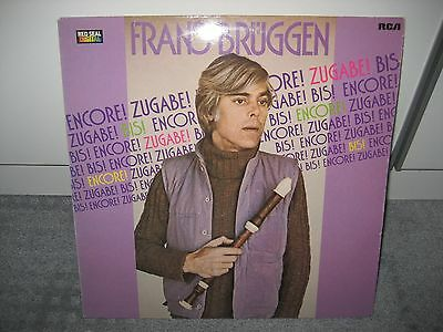"LP Frans Brüggen ""Encore! Zugabe! Bis!"" (RCA Red Seal)"