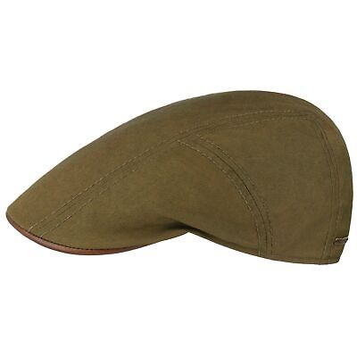 93547b91 Stetson Waxed Cotton Flat Cap Men Caps cotton cap ivy hat Summer flat