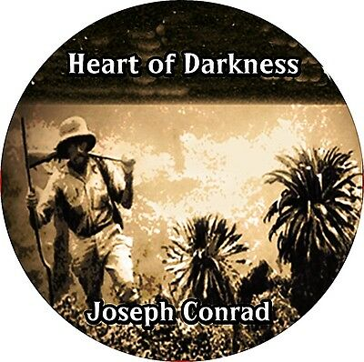 BUY 2 GET 1 FREE Heart of Darkness by JOSEPH CONRAD MP3 CD Audiobook