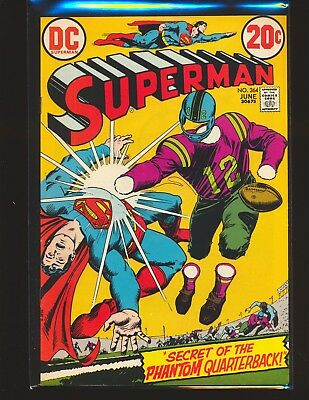 Superman # 264 - 1st Steve Lombard VF+ Cond.