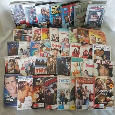 Comedy Movie Pack 41 x DVDs Black Sheep, Mash, Beverly Hills Cop, Truman Show