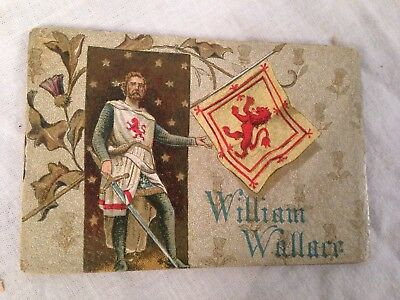 Colman's Christmas Miniature Book, WILLIAM WALLACE, Chromolithograph Victorian