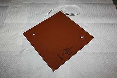 Watlow Etched Foil Silicone Heating Pad. 240Vac, 600W. #F077077504