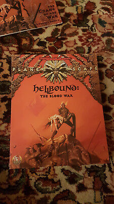 Planescape Hellbound - The Blood War (Deluxe Adventure, Ad&d 2nd)