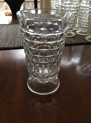 Indiana Whitehall Fostoria Footed Iced Tea Tumbler Glass - Multiples Available