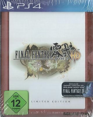 PS4 Game Final Fantasy Type-0 HD FR4ME Limited Edition incl. FF XV 15 Demo NEW