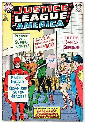 Justice League of America #28, Very Good - Fine Condition!