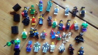 Lego Minifigure Job Lot Collection x 34 Plus Loads of  and Spares