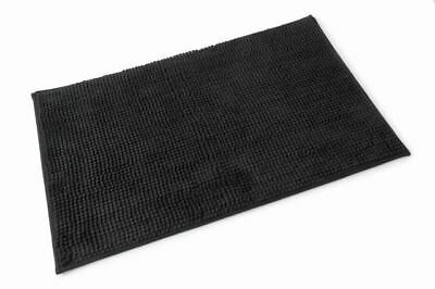 Blue Canyon Bathroom Microfibre Bath Mat 50x80 Black