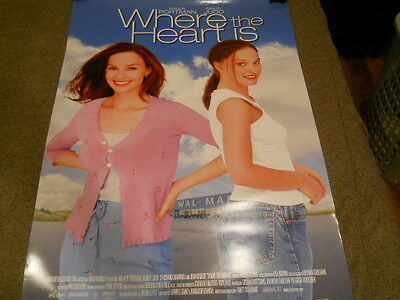Natalie Portman - Where The Heart Is Video Poster 2000