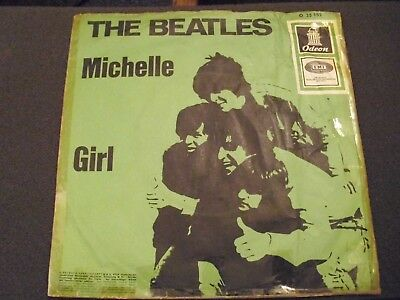 The Beatles . Michell . Girl . Single