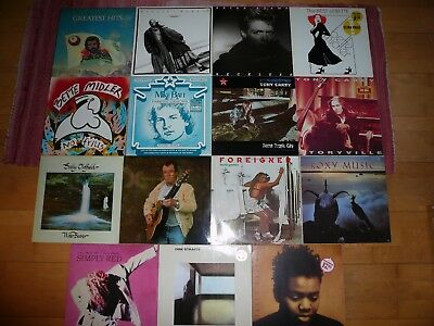 Simply Red, Dire Straits, Sally Oldfield, Foreigner, Roxy Music...