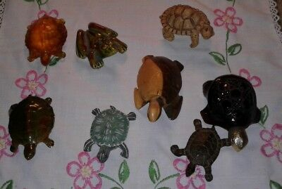 Miniature Turtles Tortoise- Frog  Mixed Lot