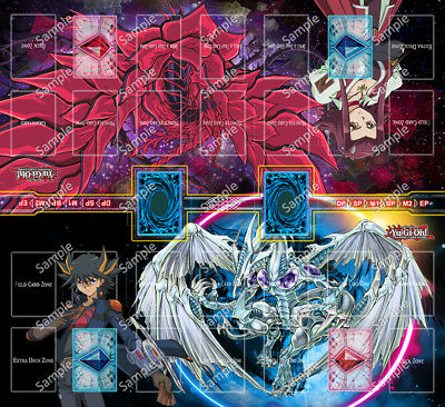 Design by Jimmy Yugioh 2 Player Two Player Playmat Custom Made Play Mat #003