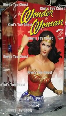 NIB USA!! TweeterHead Wonder Woman 70s TV Lynda Carter 1/6 Scale Maquette Statue