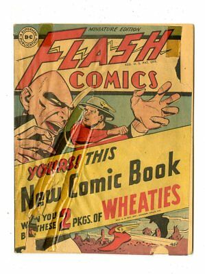 Flash Comics #nn G 2.0  complete  Wheaties Giveaway  DC  1946  No Reserve