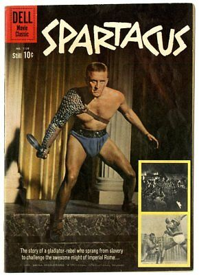 Four Color #1139 VG+ 4.5  Spartacus  Photo Cover  Dell  1960  No Reserve