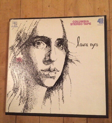 Laura Nyro Reel To Reel Tape Vintage Christmas And The Beads Of Sweat