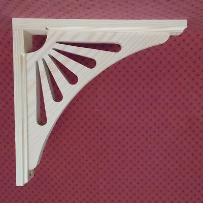 Set of FOUR (4) Victorian Gingerbread House & Porch Trim Bracket / Shelf Support