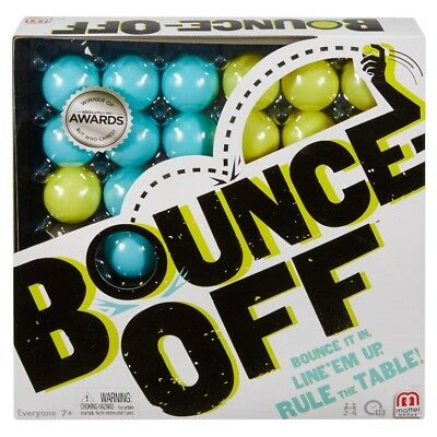 """Bounce Off The Game By Mattel 2-4 Players Ages 7+ All Family """"NEW"""""""