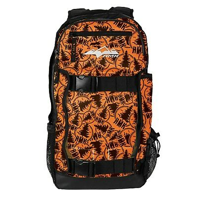 HMK HM4PACK2S Backcountry Pack 2 Backpack Stamp Camo Orange Black Heavy Duty