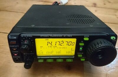 Icom IC-703+ Plus Transceiver (Plus Version mit 6m) mit DSP