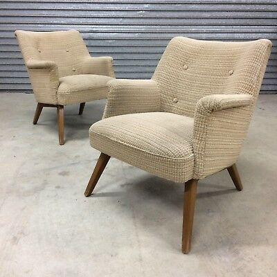 Vintage Mid Century Cocktail Chairs