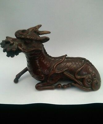 antique bronze oriental dragon