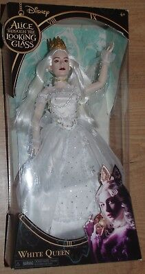 Disney Alice Through the Looking Glass new  White Queen doll