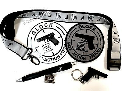 GLOCK®  Promotional Swag Pack Advertising Promotional Memorabilia Glock Promo