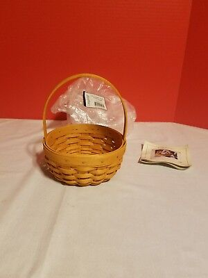 Longaberger 2001 Small Classic Easter Basket