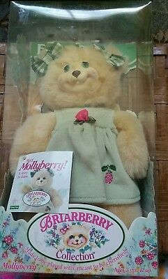 Fisher Price Briarberry Collection Bear 1998 MOLLYBERRY brand new in box