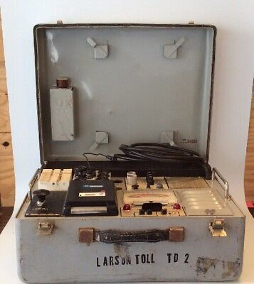 Tube Tester - Hickok - KS-15874-L1 - With Cards - Portable - With Case -