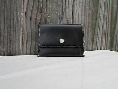 Coach business card holder lilac purple nwt and dust bag 2090 coach black leather envelope business card case holder white stitching colourmoves
