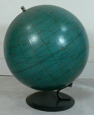Nice Vintage George Philip & Son 6-Inch Celestial Star Globe, Made in London