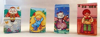 Set of four Avon Mother Goose Collection Childhood Rhyme Soap