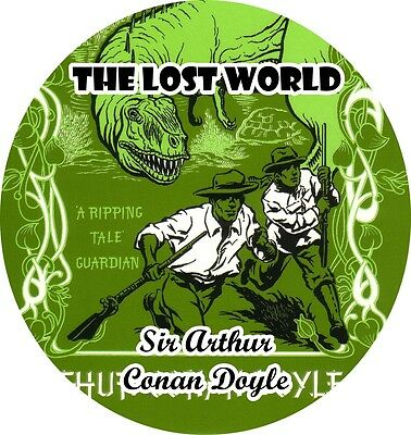 BUY 2 GET 1 FREE The Lost World by SIR ARTHUR CONAN DOYLE Mp3 CD