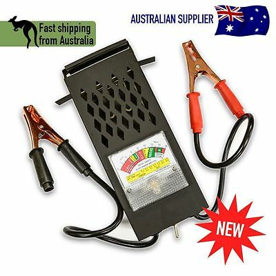 NEW! 6-12 Volt Car Battery Load Tester | 100 AMP | Heavy Duty! | AU Shipping